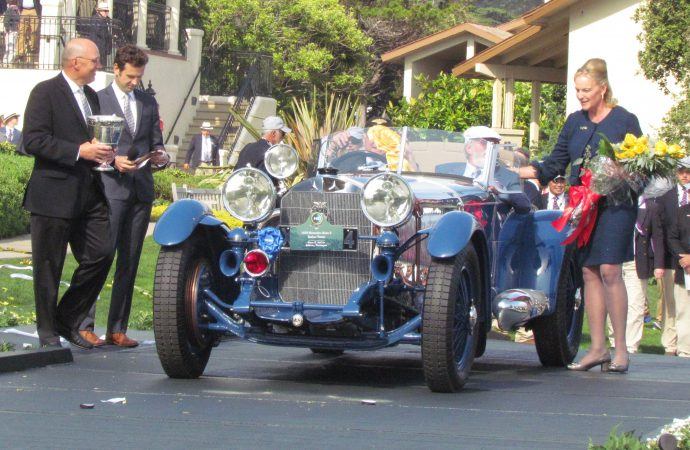 Oh brother! 1929 Mercedes-Benz wins at Pebble Beach
