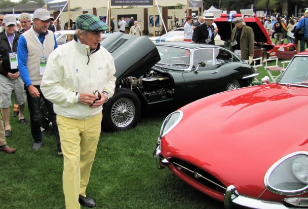 Legendary racer Jackie Stewart at The Quail | Bob Golfen