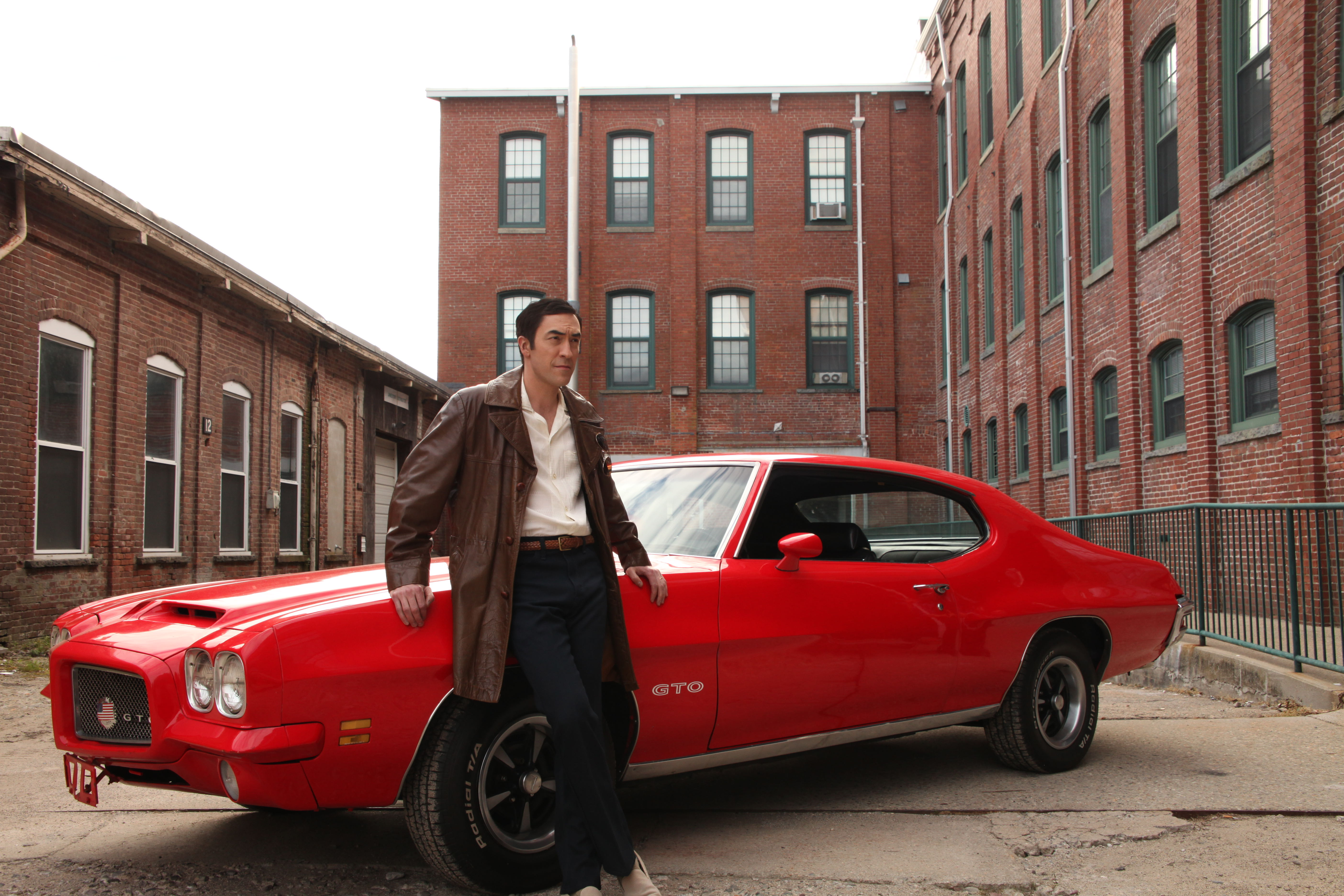 Actor portrays John DeLorean introducing the Pontiac GTO | History / Magilla Entertainment photos