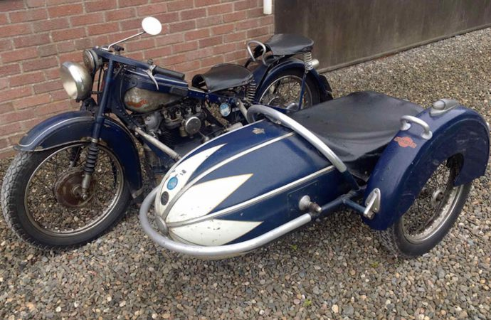 Shropshire Lad's motorcycles, sidecars headed to auction