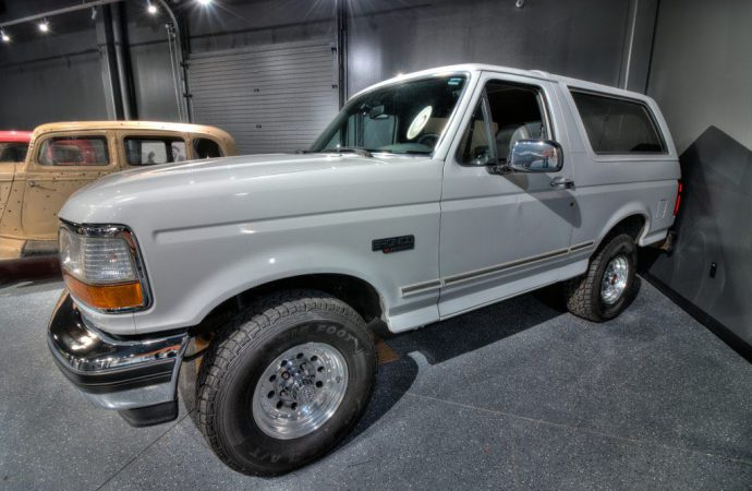 Museums: O.J. Bronco on display at Alcatraz East
