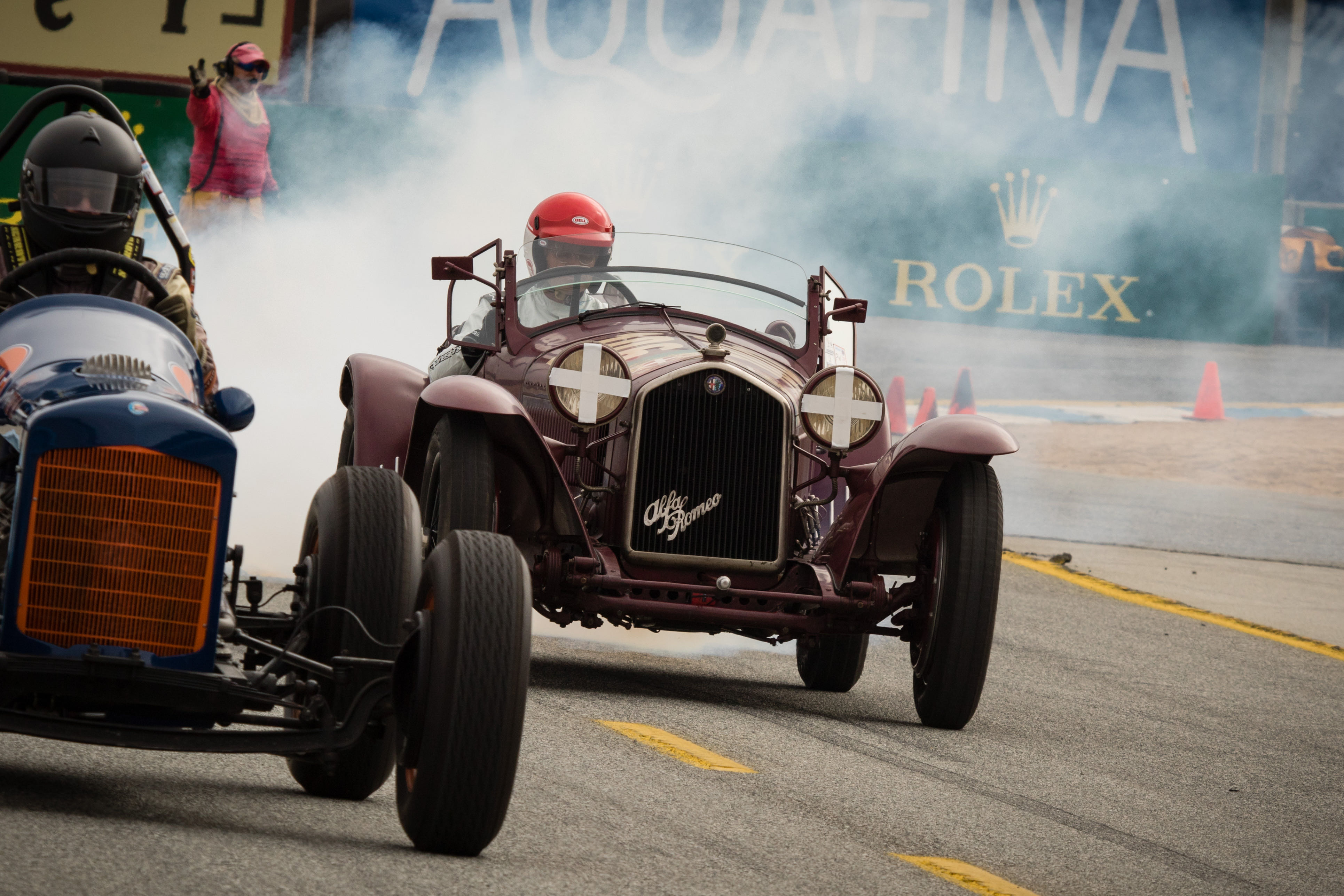 Vintage racing: 87-year-old racer wins Spirit of Monterey honors ...