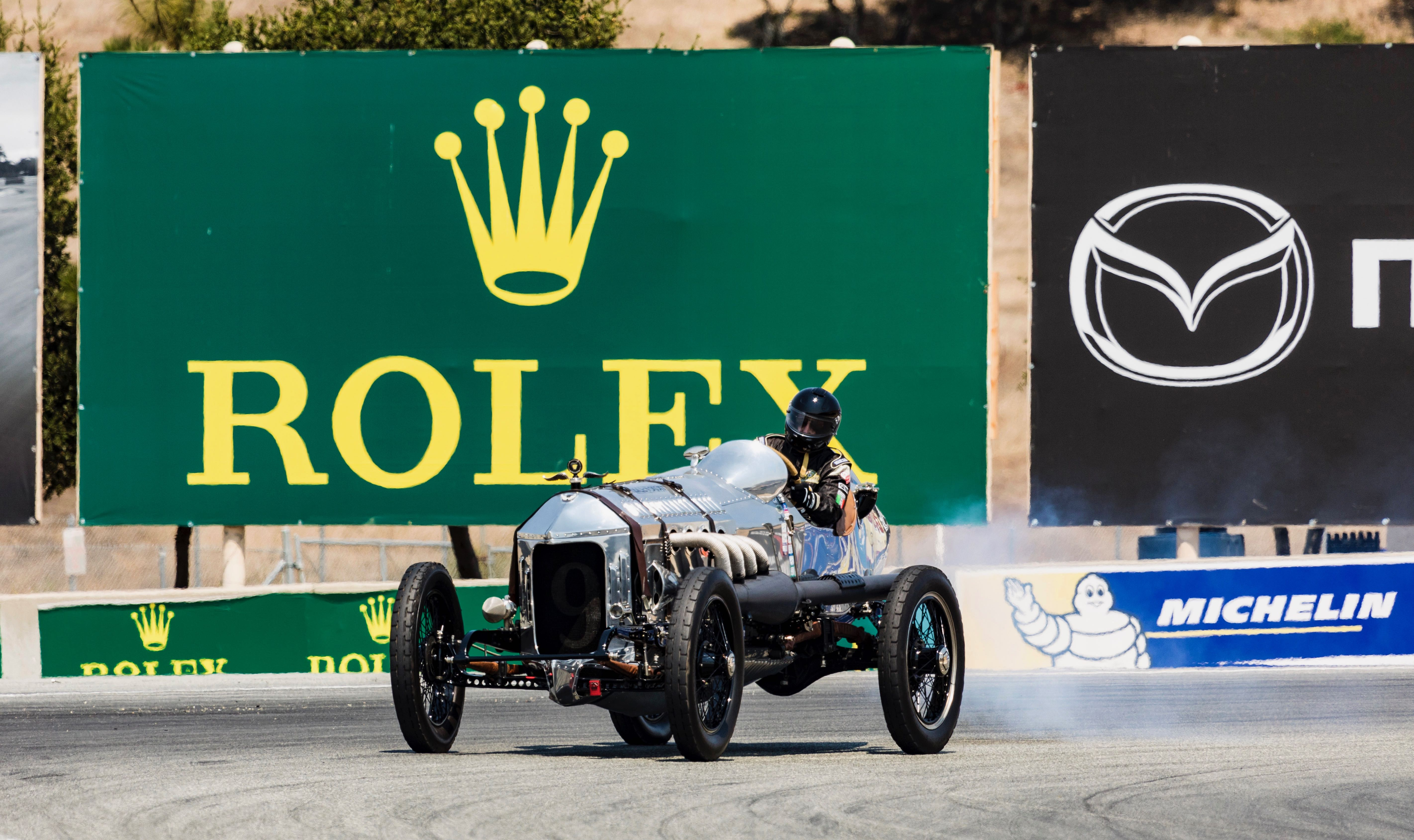 Vintage racing: 87-year-old racer wins Spirit of Monterey honors ...