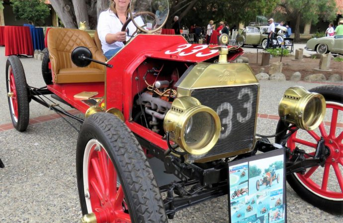Family-heirloom Ford Speedster at Carmel Mission Classic