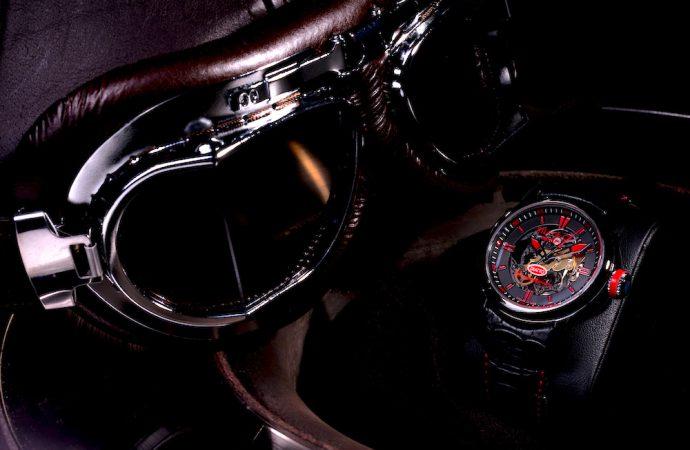 Early Italian racing cars provide inspiration for Diatto Competizione watch