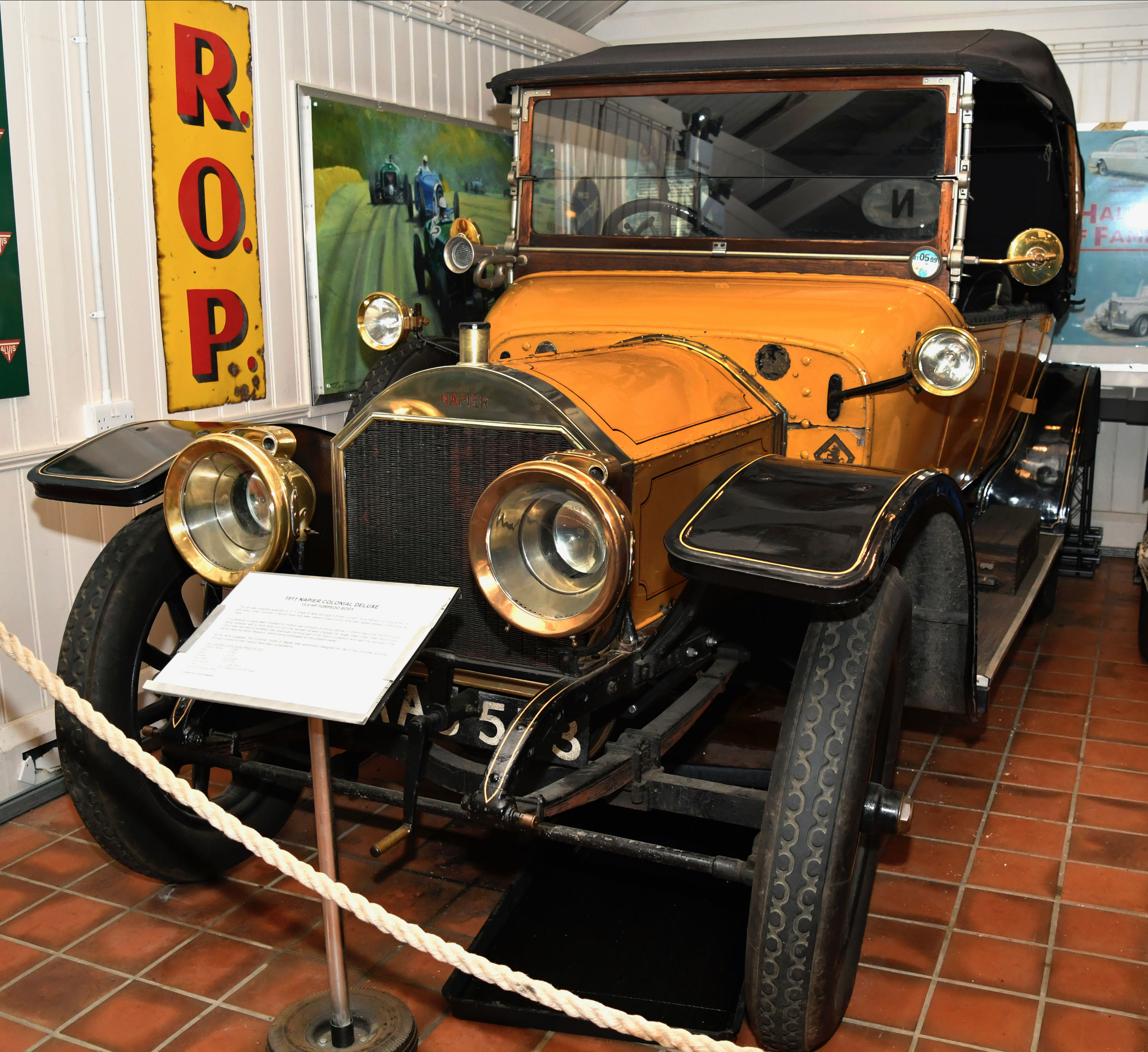 Brooklands Museum Working To Save World's First Purpose