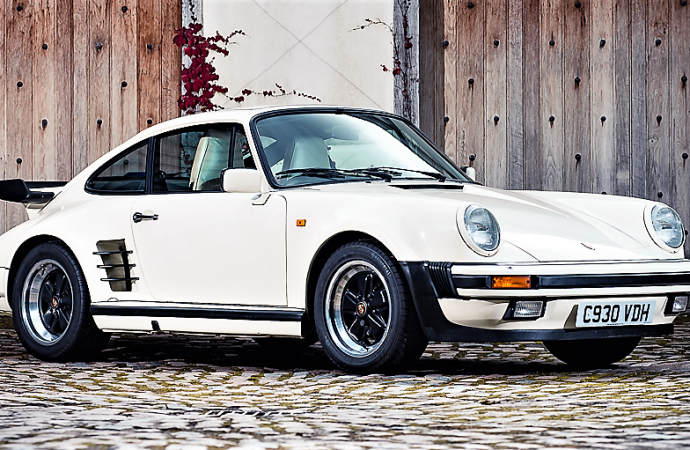 Porsche Turbo that sparked a rock album to be auctioned at Silverstone