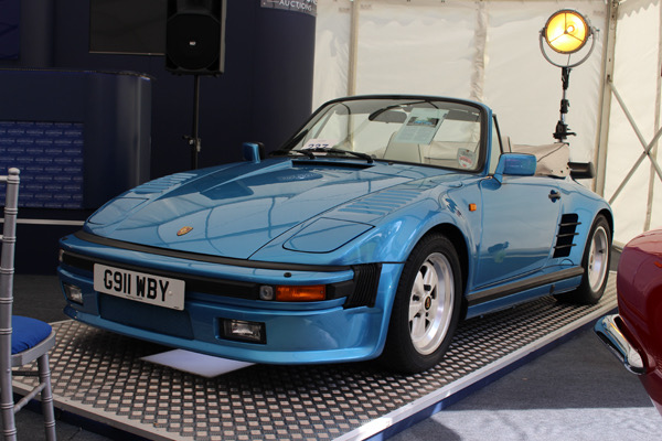 Porsches set pace at Silverstone sale