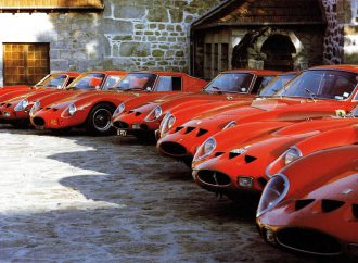 Ferrari's rolling birthday party heads to Design Museum in London