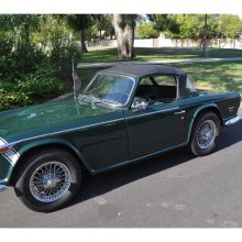 Pick of the Day: 1968 Triumph TR-250