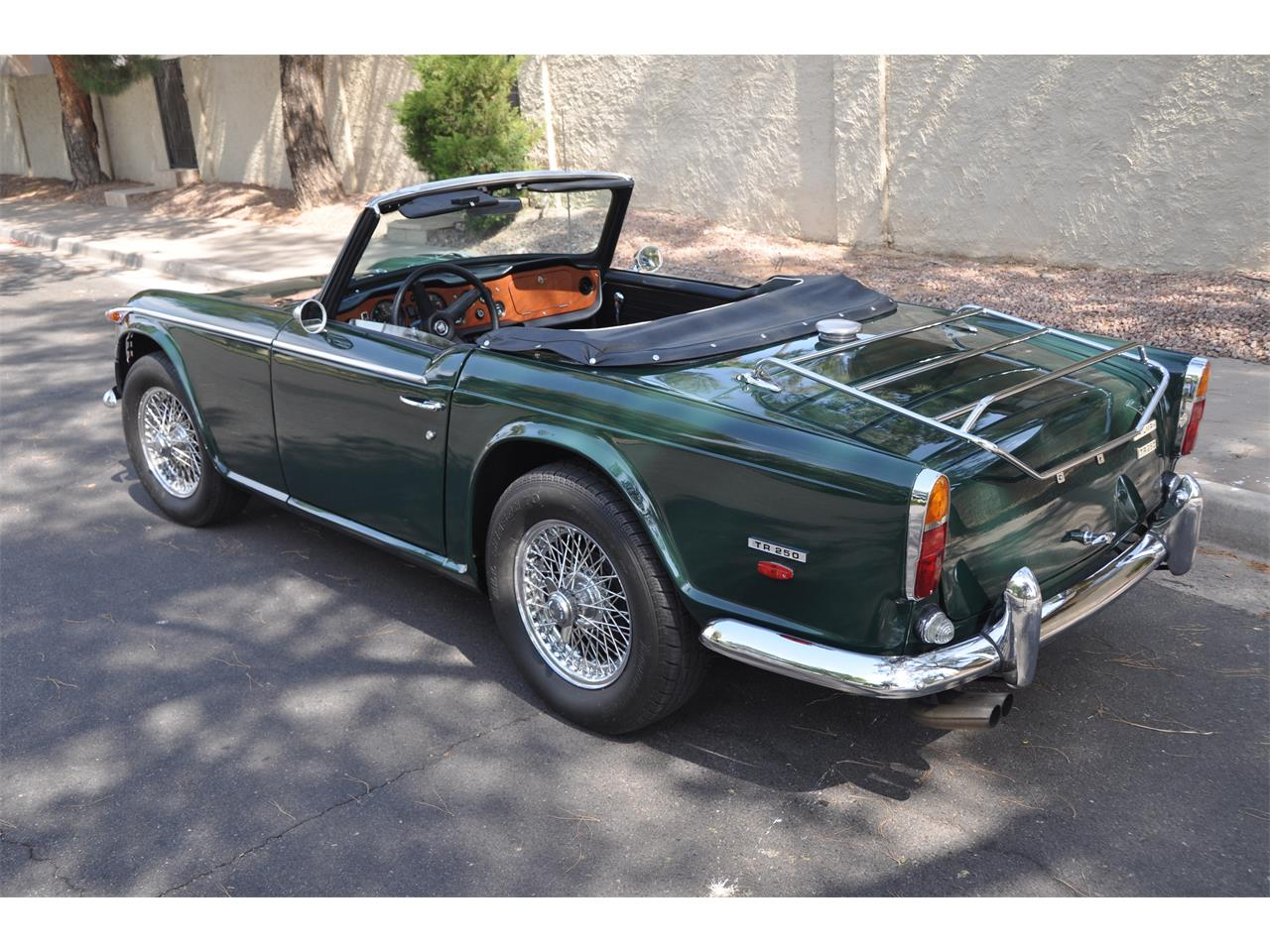 Pick of the Day: 1968 Triumph TR-250   ClassicCars com Journal
