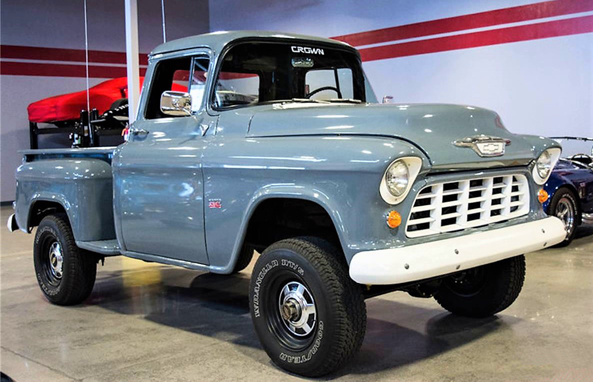 Truck chevy 1955 truck : Pick of the Day: 1955 Chevrolet pickup - ClassicCars.com Journal