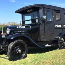 Pick of the Day: 1930 Ford Model A police 'paddy wagon'