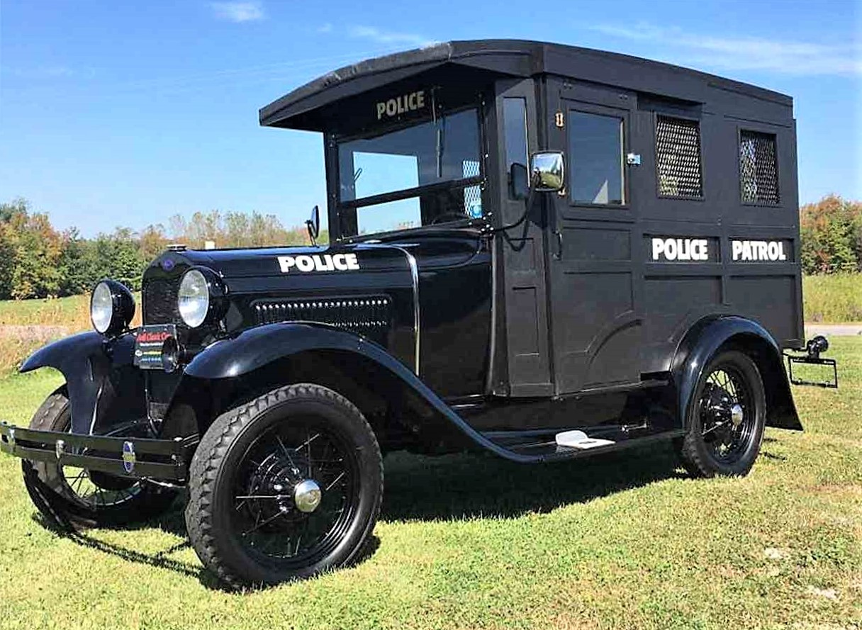Pick of the Day: 1930 Ford Model A police \'paddy wagon ...