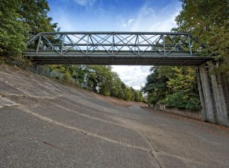 Brooklands Museum working to save world's first purpose-built race track