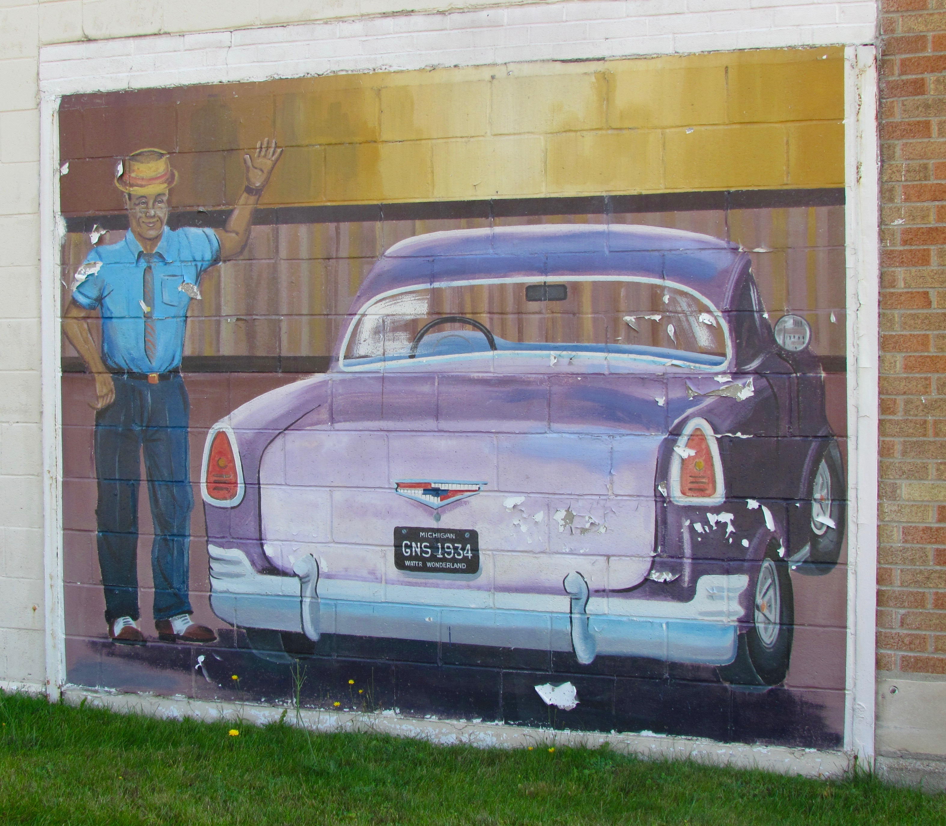 Looking for automotive art along America\'s two-lane roads ...