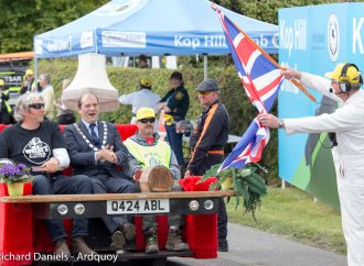 Movie star car and Edd China's couch highlight Kop Hill Climb