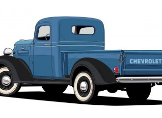 Chevrolet celebrates 100 years of trucks by choosing 10 'most-iconic' designs