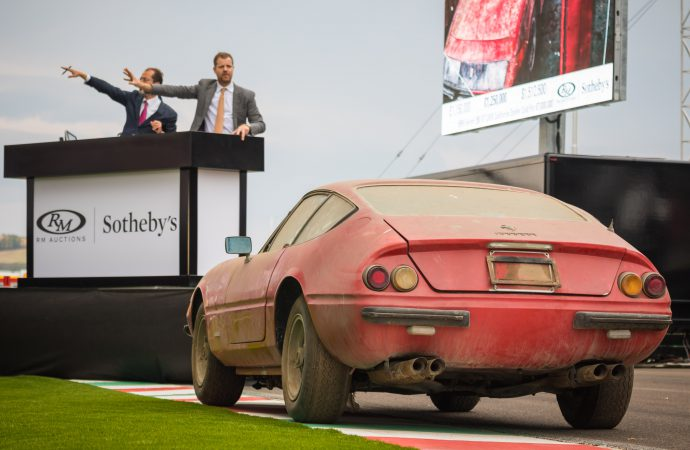 RM Sotheby's Ferrari auction generates more than $75 million