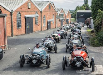 Classic Morgan sports cars converge for weekend of motoring tradition