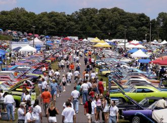 Giant Carlisle swap meet, top-tier concours cars and events