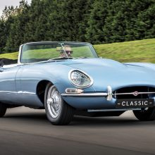 Jaguar restores a classic E-type roadster, but with electric power