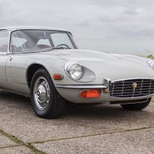 'Ghost' E-type reappears and heads to auction