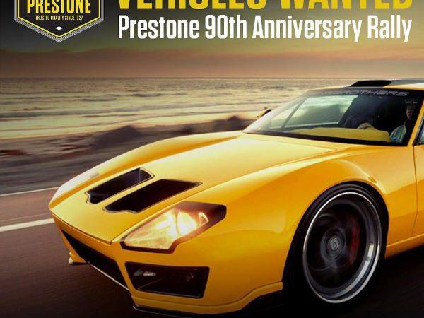 Prestone seeks outstanding cars for LA rally
