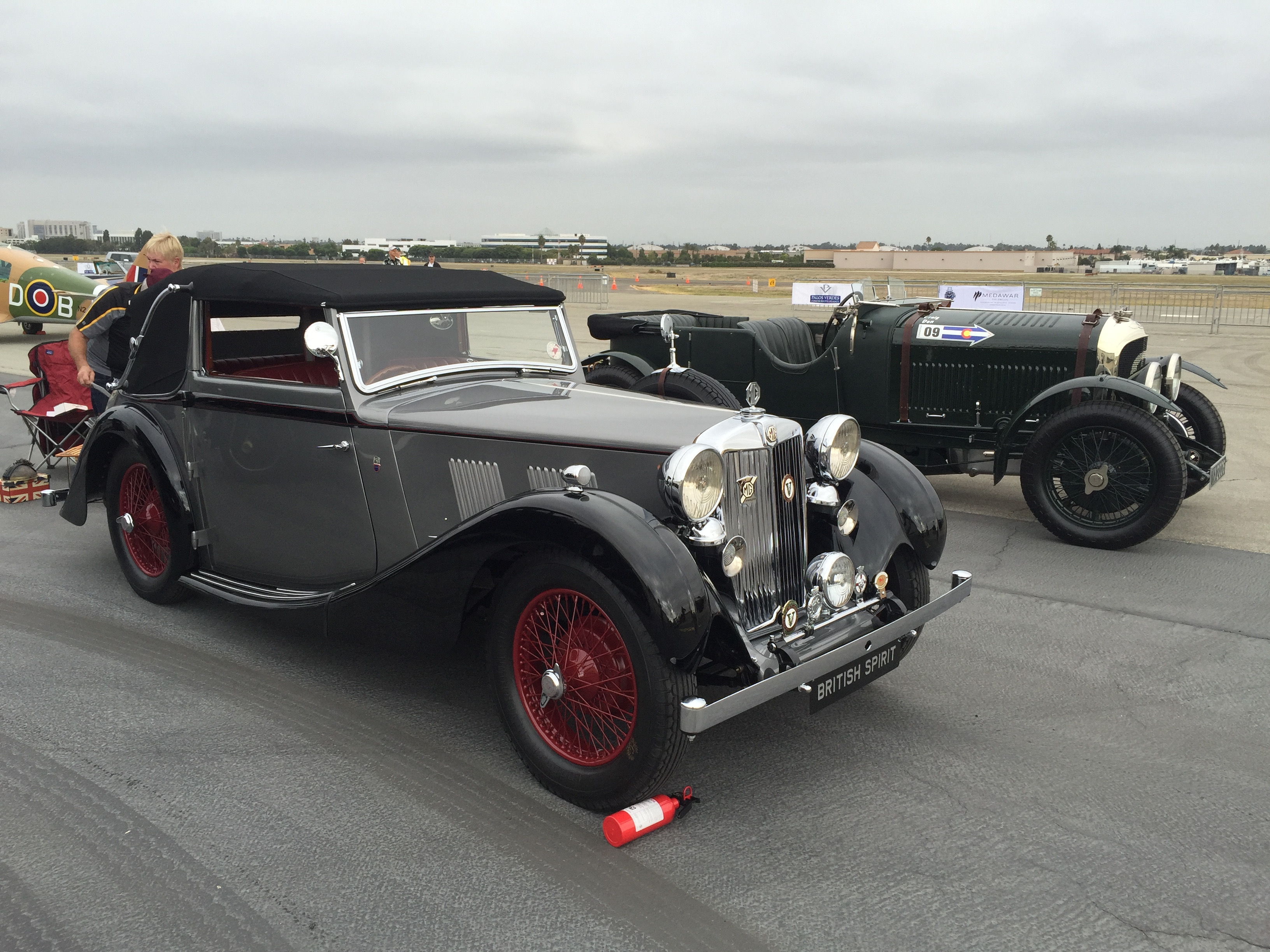 Palos Verdes Concours Flies To New Heights At Airport Location - Palos verdes car show
