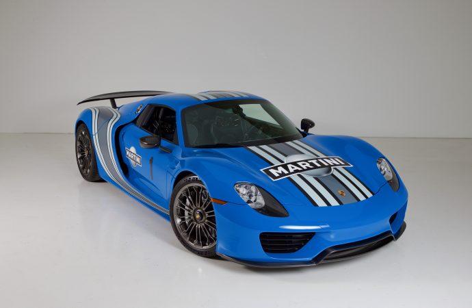 Barrett-Jackson Countdown: 2015 Porsche 918 Spyder