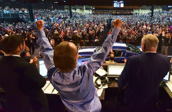 Bids and emotions run high at Barrett-Jackson's Las Vegas auction