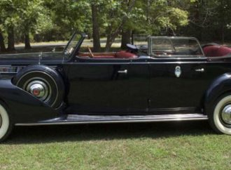 Former Peron Packard parade car up for bidding