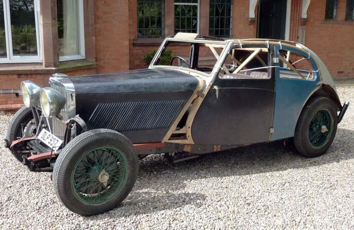 Rare 1937 Talbot Airline fastback headed to auction