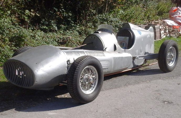 Dramatic Argentine racer with ties to Fangio going to auction