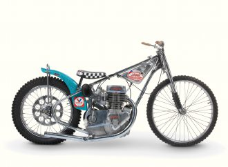 Vintage motorcycles sell well at Bonhams' Stafford auction