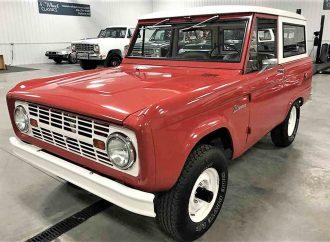 Original-spec 1966 Ford Bronco