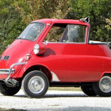 Tiny, quirky 1957 BMW Isetta 300
