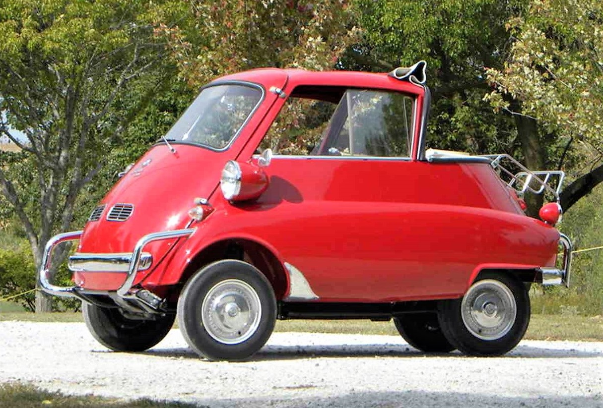 Tiny Quirky 1957 Bmw Isetta 300 Classiccars Com Journal