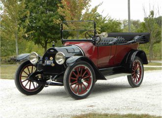Century-old 1915 Chevrolet touring car