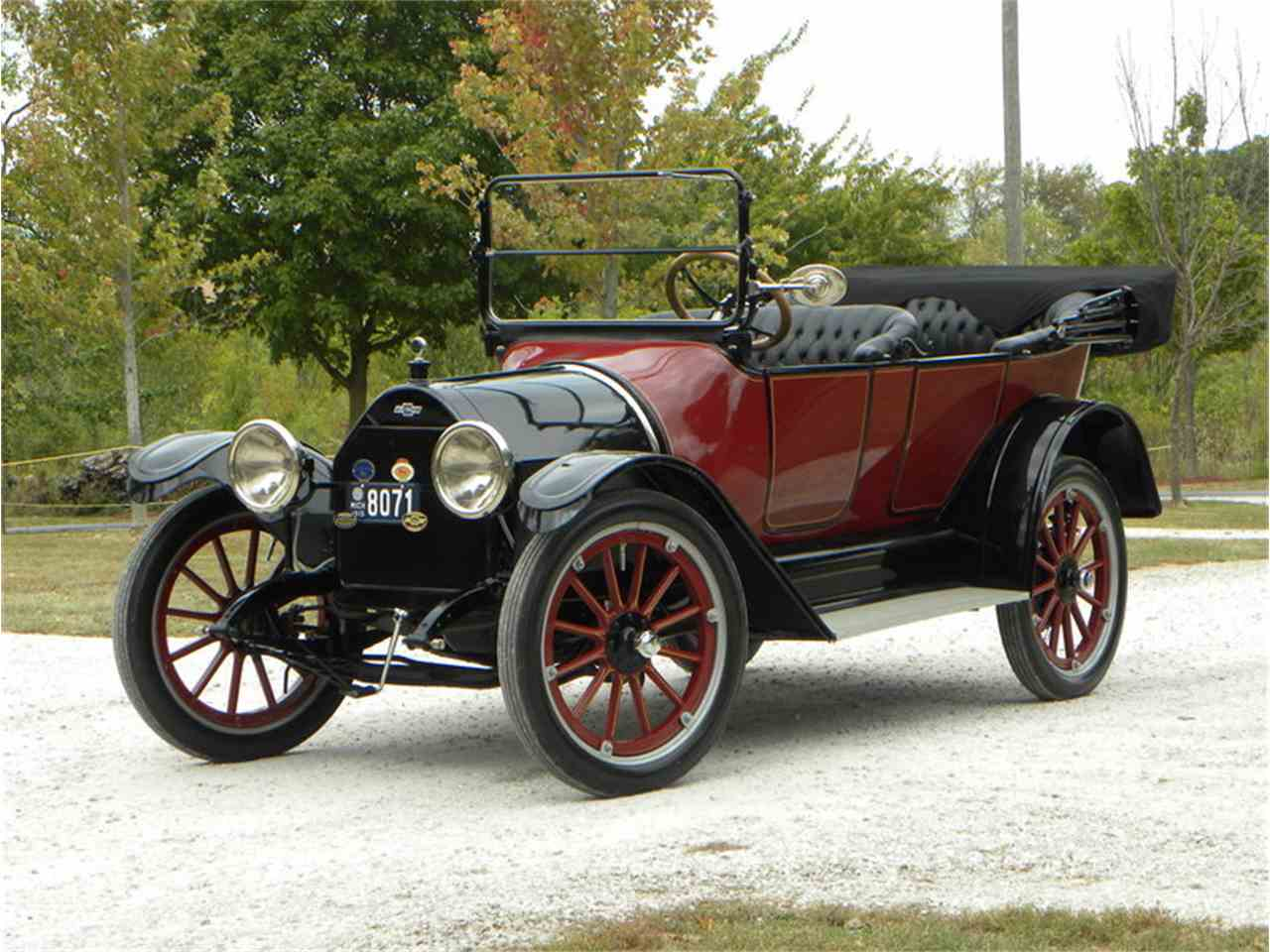 Century-old 1915 Chevrolet touring car - ClassicCars.com Journal