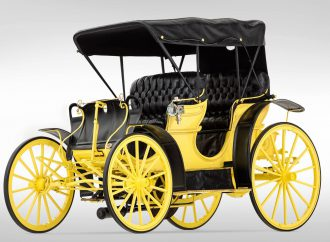 Only Benton Harbor 'horseless carriage' inducted into national registry