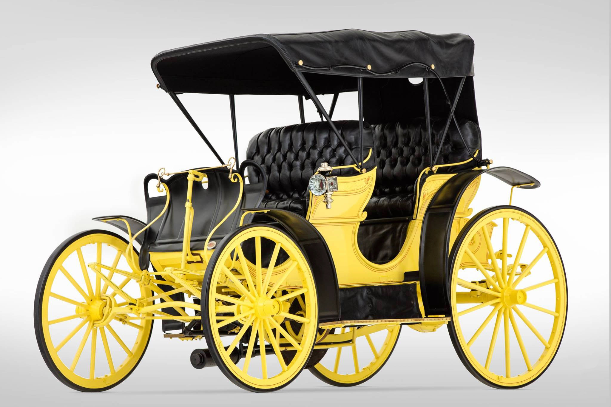 Only benton harbor horseless carriage inducted into for Car carriage
