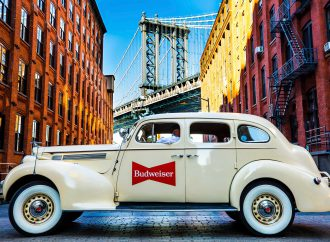 This Bud's for classic cars: Beer company offers Lyft rides in Manhattan in vintage vehicles