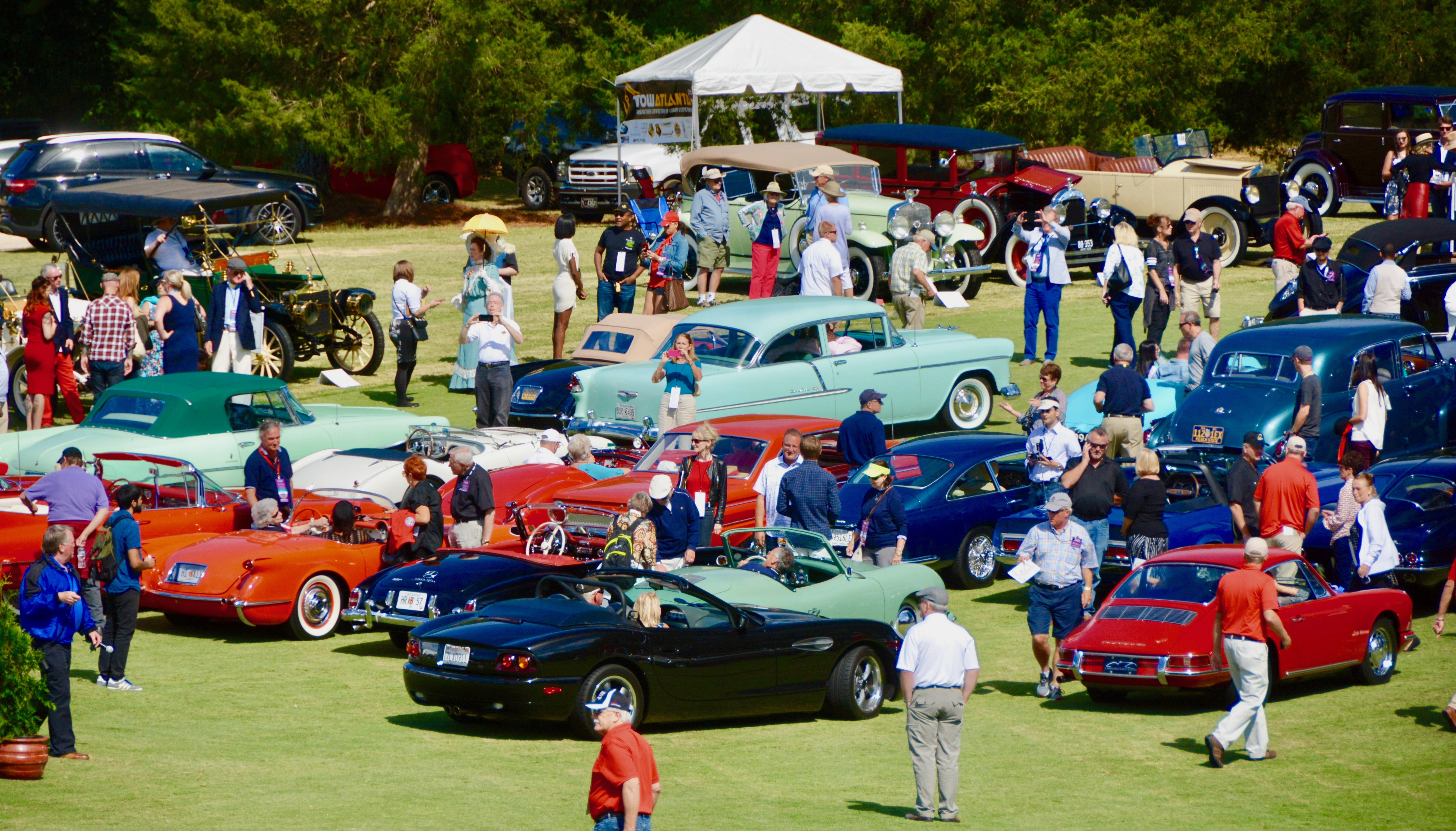 Atlanta concours\' winning formula: Southern hospitality and classic ...