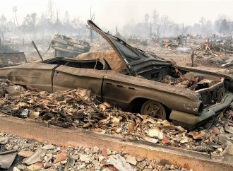Reduced to ashes: Classic cars burned in California fires add to the devastation