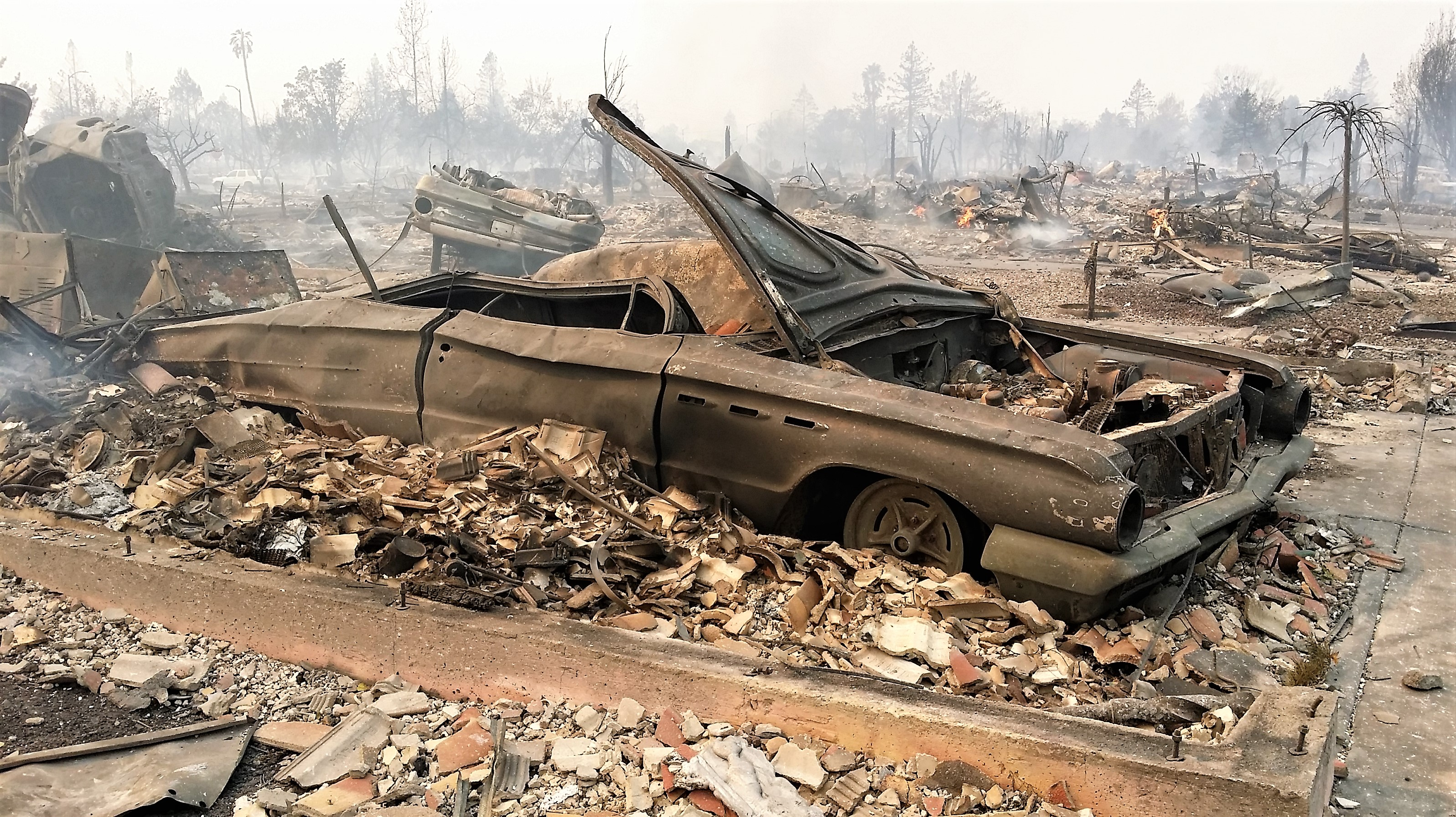 Classic cars burned in California fires add to the devastation