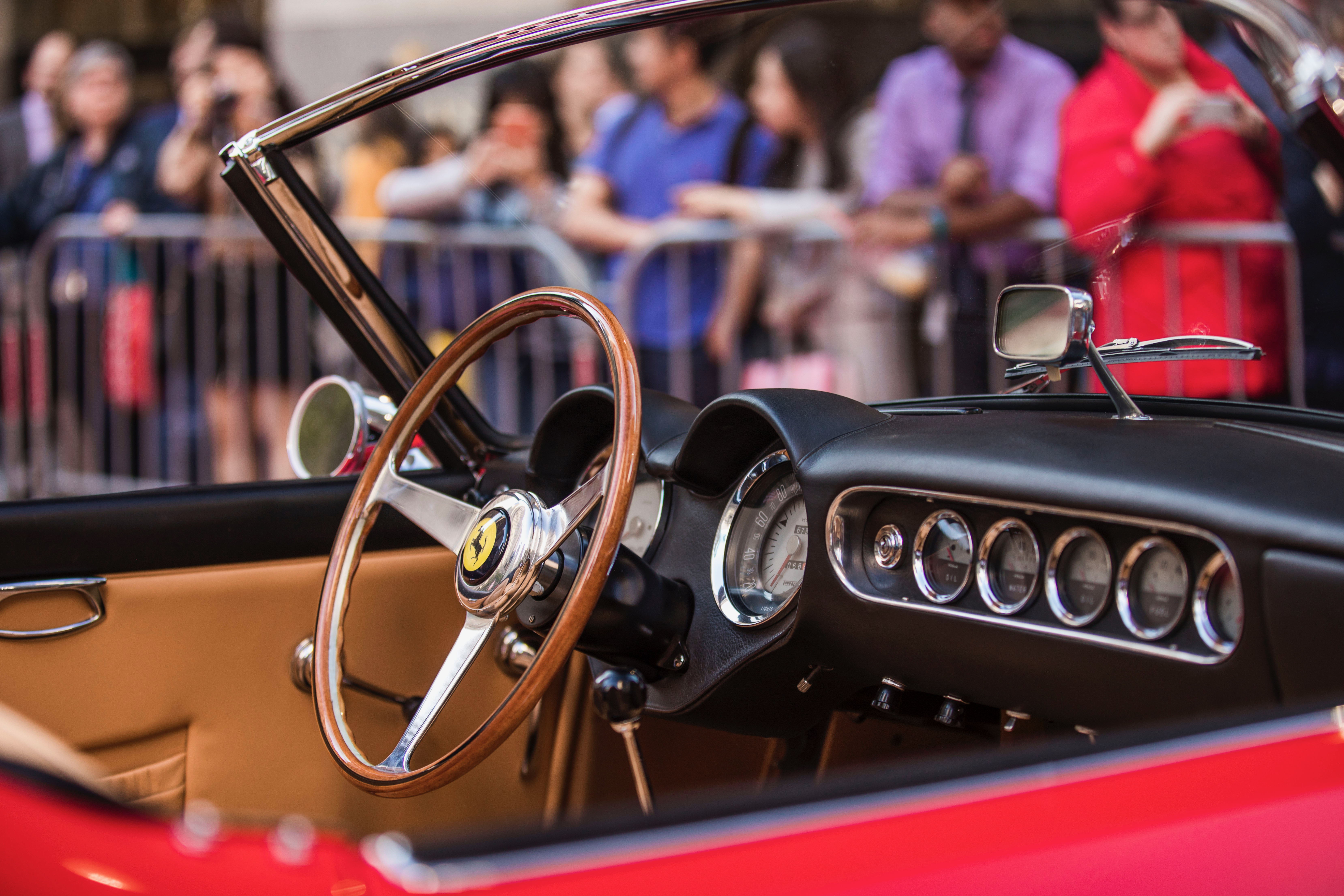 New York Turns Ferrari Red For Birthday Celebration ClassicCars - Classic car show nyc