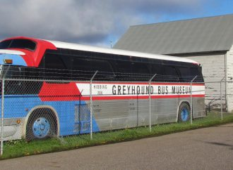 You'll do the driving to get to Greyhound bus museum