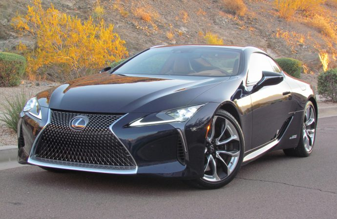 Form fouls function: 2018 Lexus LC 500h