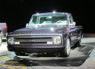 SEMA Seen: Centennial-celebration 1967 Chevrolet C-10 pickup truck